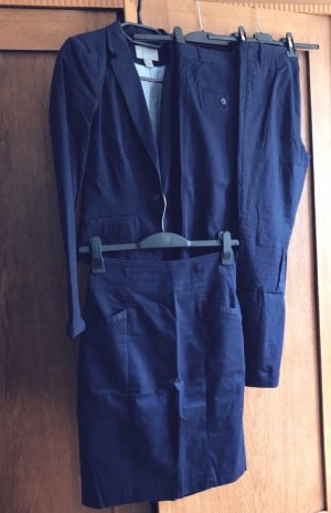 H&M Tailleur pantalone blu scuro