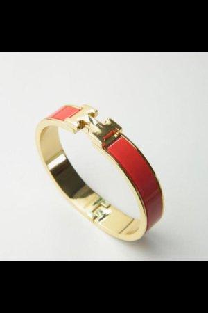 Damenarmband NEU ! Rot-Gold 100%fashion
