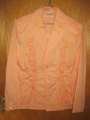 Damenblazer / Damenjacke/ Damen Blazer / Sommerblazer / Sommerjacke, Gr. 42, orange