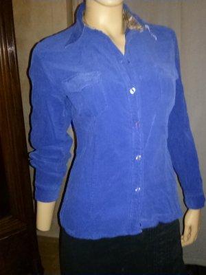 Damenbluse aus Cord von Esprit - G.38 signalblau