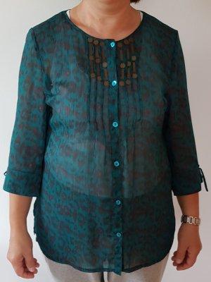Damenbluse Gr. 40/ Oberteil/ Sommer/ Bluse/ Transparent Gr.M