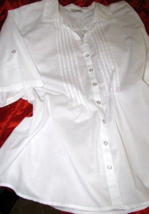 Damenbluse in weiß Gr. 46
