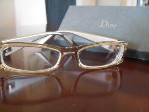 Dior Glasses camel-gold-colored synthetic material