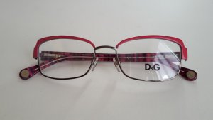Dolce & Gabbana Glasses pink-pink synthetic material