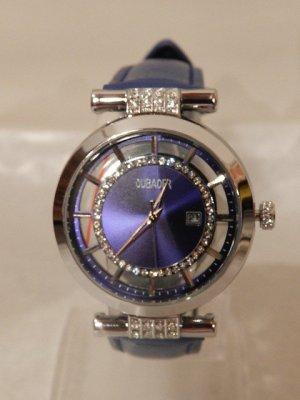 Analog Watch light grey-blue stainless steel