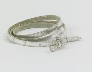 Damengürtel, Gürtel, echt vintage, Silber-farben, ca. 100 cm lang