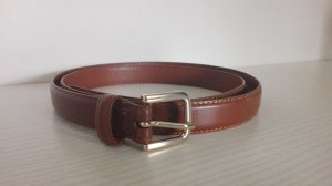 H&M Faux Leather Belt cognac-coloured imitation leather