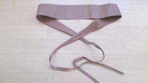 Damengürtel von MANGO zum Binden, echtes Leder, flexible Größe