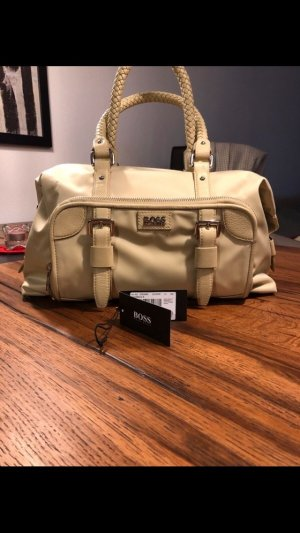 Hugo Boss Bowling Bag gold-colored-lime yellow