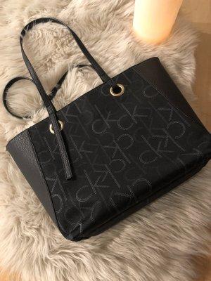 Calvin Klein Handbag black-white