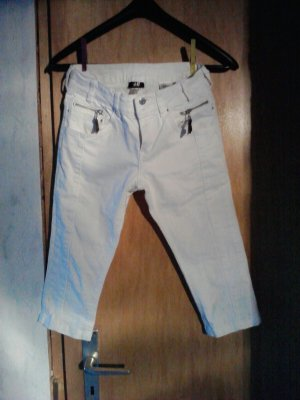 H&M 3/4 Length Trousers natural white