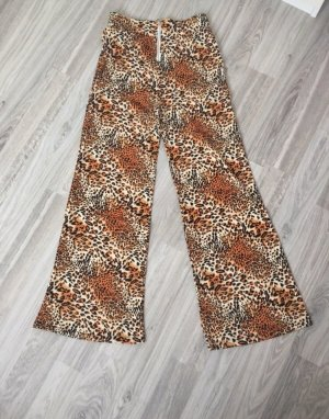 SheIn High Waist Trousers sand brown-brown
