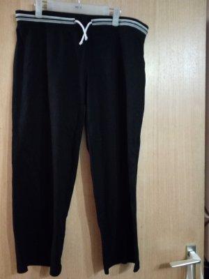 Canda Pantalon de jogging blanc-noir coton