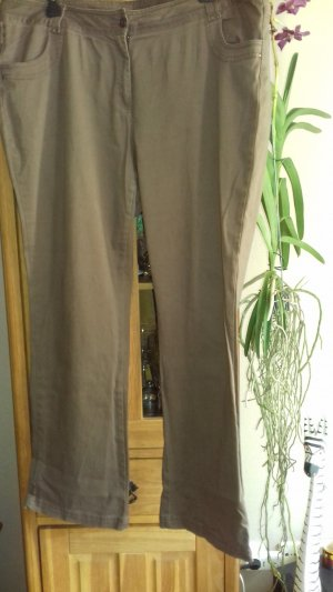 Marlene Trousers bronze-colored mixture fibre