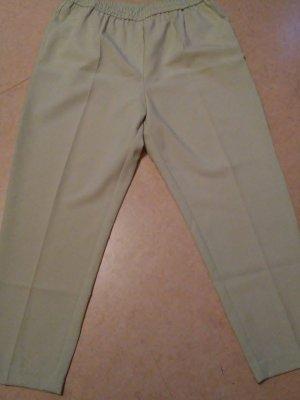 Pantalon à pinces vert pâle polyester