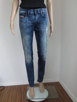 Damenhose, Jeans, Destroyed Denim, Used Effekte, W28 L32