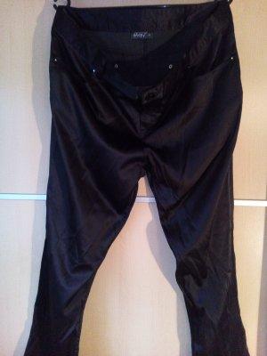 Damenhose schwarz- glänzend Gr.44