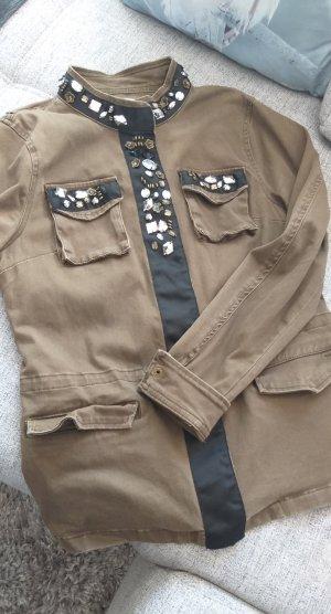 Only Military Jacket olive green-khaki