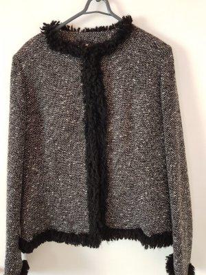 Damenjacke Schwarz Weiß Größe 42 Blazer