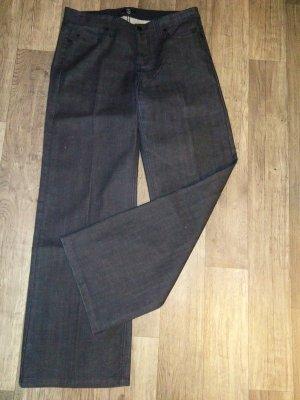 Jette Boot Cut spijkerbroek donkerblauw-antraciet Katoen