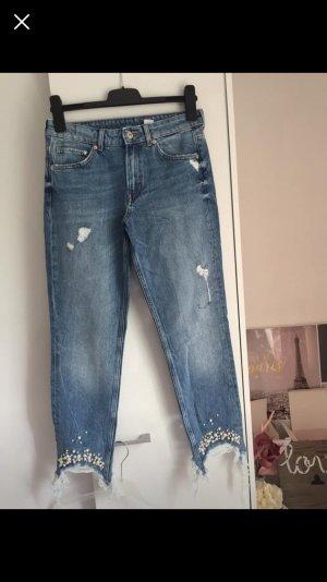 H&M Jeans skinny blu