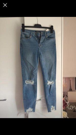 Zalando Hoge taille jeans blauw