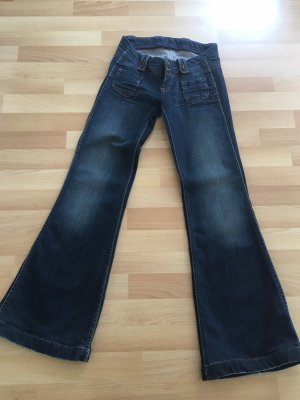 Pepe Denim Flares dark blue