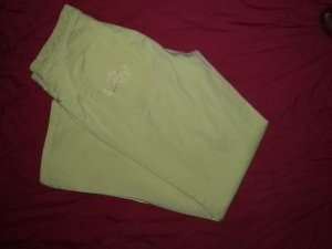 Gerry Weber Pantalone cinque tasche giallo-giallo chiaro Cotone