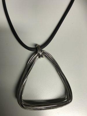 Chain silver-colored-black