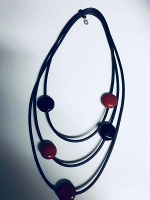 Chain black-dark red