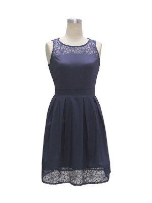 Damenkleid dunkelblau