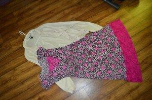 Damenkleid Leo Kleid pink Spitze Süß Gr. 42 strech von Pretty Woman