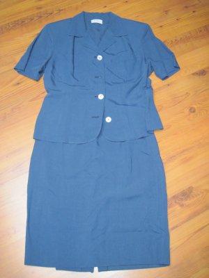 Damenkostüm / Kostüm für Damen  für den Sommer, blau, Gr. 40