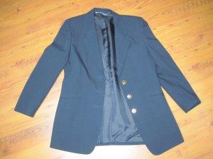 Damenkostüm / Zweiteiler / Hosenanzug / Jacke und Hose, blau, Gr. 38