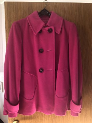 Betty Barclay Cappotto in lana magenta-rosa