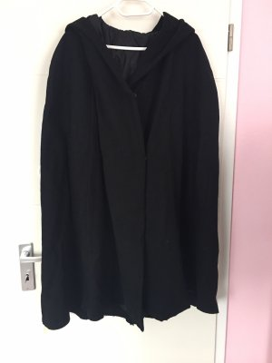 H&M Hooded Coat black