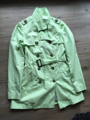 Damenmantel grün
