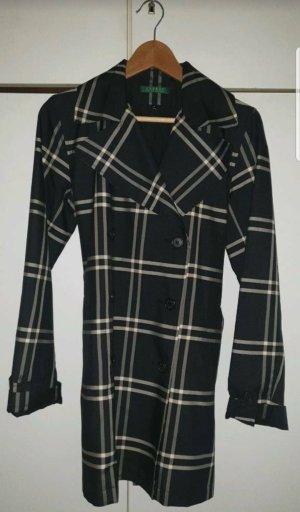 Ralph Lauren Long Jacket white-black