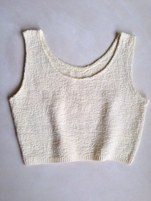 Knitted Top pale yellow