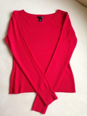 Damenpulli rot Größe M neuwertig!