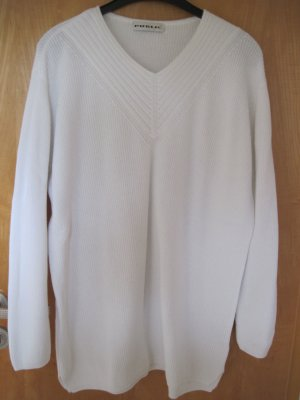 Damenpullover / Damen Pulli  Gr. 42, weiß
