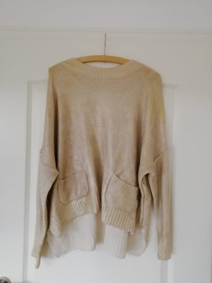 Fairly Oversized Sweater gold-colored