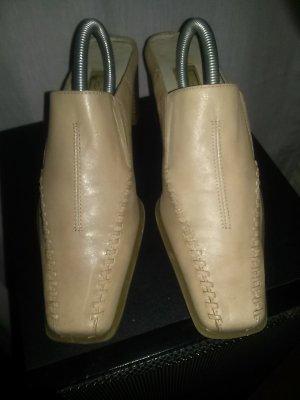 Damenpumps - mule aus weichem Leder Gr. 37- so gut wie neu