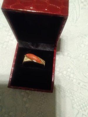 Gold Ring gold-colored-dark orange