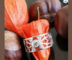 Damenring Silber 925 mit Zirkonia