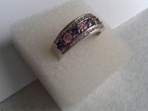 Silver Ring purple