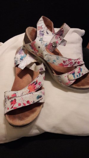 Think! Strapped Sandals multicolored leather