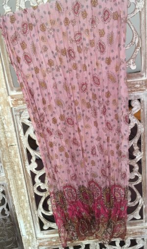 Pashmina multicolored cotton
