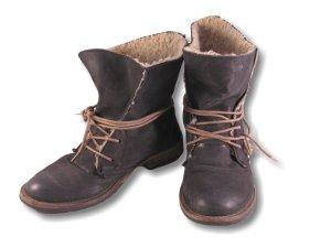 Damenschuh, Boots, warm, schwarz,Gr.38,Schnürung, hoch!