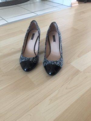 Zara Woman High Heels white-black